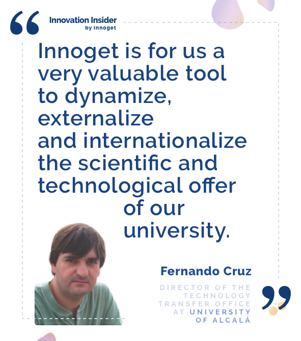 Innovation Insider: An interview with Fernando Cruz, Director of the Technology Transfer Office at the University of Alcalá