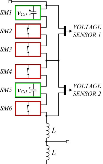 Measuring Technique for Reducing the Number of Voltage Sensors in a Modular Multilevel Converter