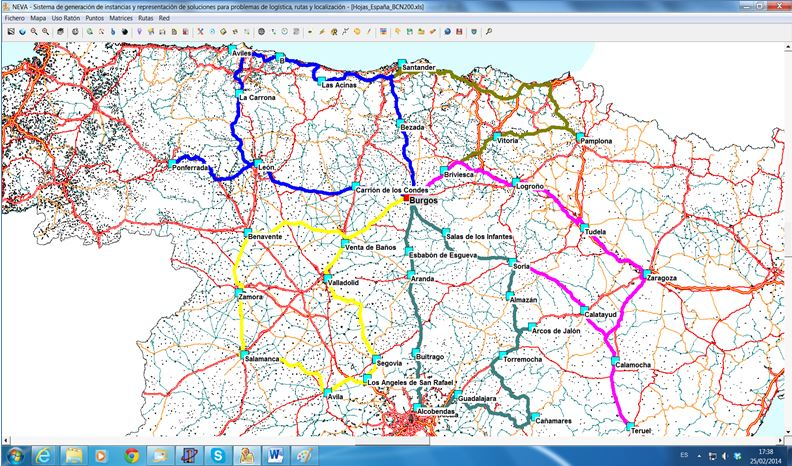 PAVEL: Planificación de rutAs de VEhículos y operaciones Logísticas