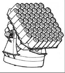 Scalable aperture-combined optical telescope