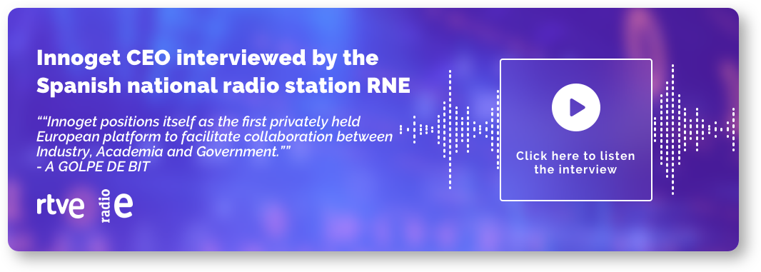 Innoget CEO interviewed by the Spanish national radio station RNE
