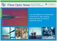Fibre Optic Nose: Sensing Volatile Organic Components