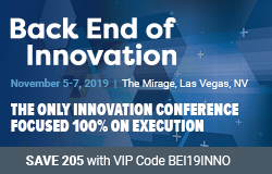 Back End of Innovation 2019