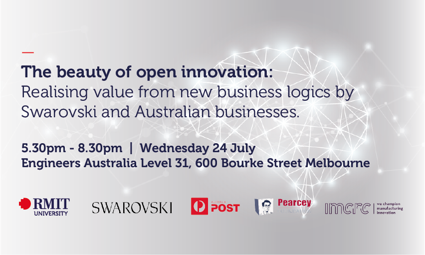 The beauty of Open Innovation: Realising value from new business logics by Swarovski and Australian businesses