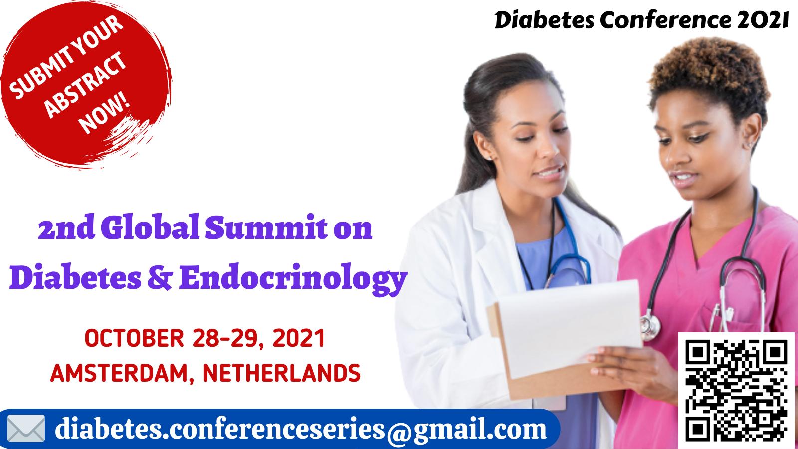 2nd Global Summit on Diabetes & Endocrinology